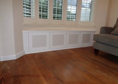 Bay window seat